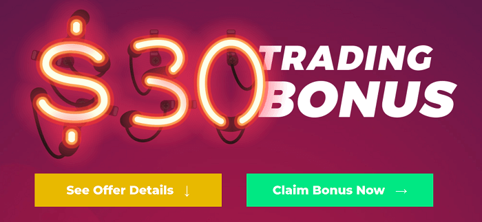 $30 No Deposit Bonus – EightCap