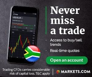 Markets 250 Zar free bonus (south Africa)